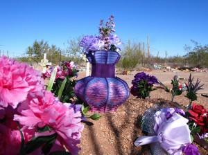 a yarn vase