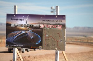 spaceport sign